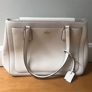 Kate Spade ivory handbag